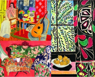 Textiles in Matisse's paintings