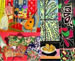 Textiles in Matisse's paintings