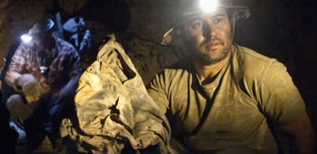 Michael Allen Harris mining for jeans
